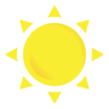 Weather sun sunny sunshine icon 124153.png